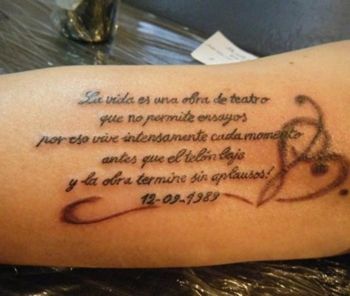 101 Frases Para Tatuajes En Español E Inglés Cortas: Frases Para Tatuajes En Español