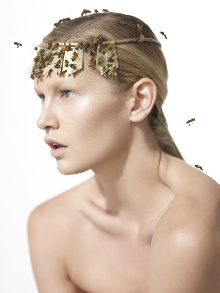 Next Top Model Blog: ANTM C16: Beauty Shoot With Bees