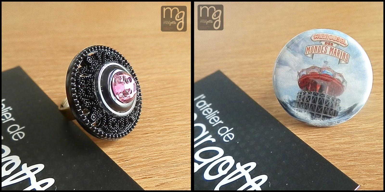 bijoux, bague, l'Atelier de Margotte, Nantes, créatrice, bullelodie