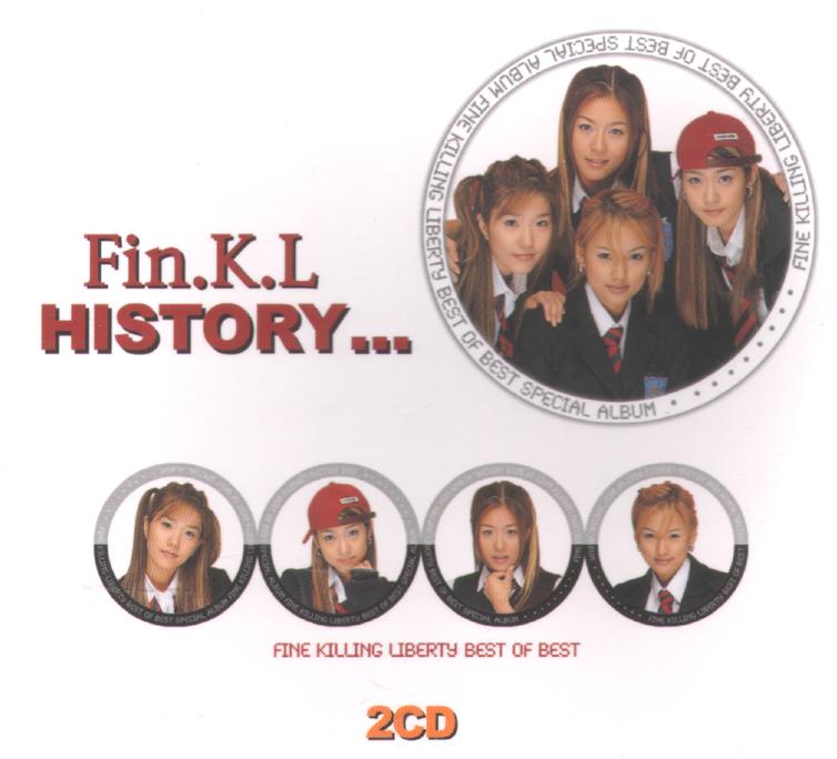 Fin.K.L – History (2CD)