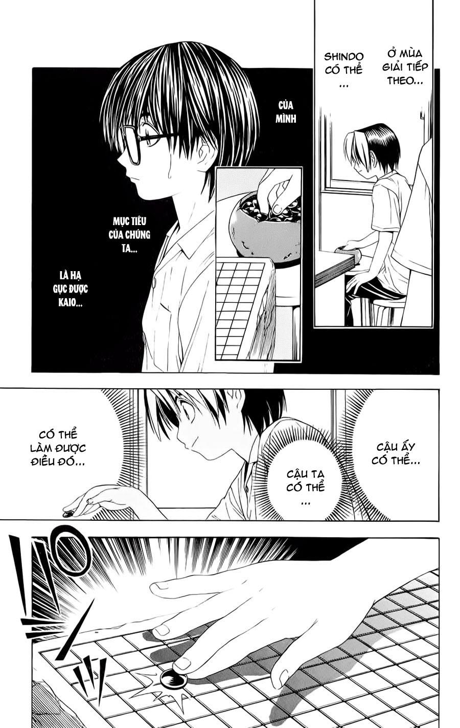 Hikaru No Go hikaru no go chap 39 trang 16