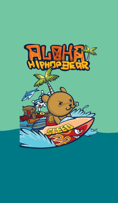 Hip Hop Bear Aloha V.1