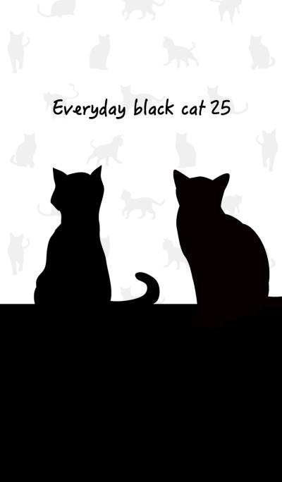 Everyday black cat25