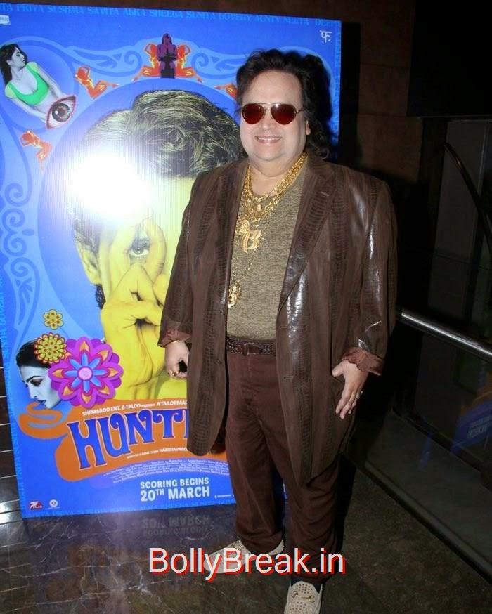 Bappi Lahiri, 'Hunterrr' Movie Music Launch Photo Gallery