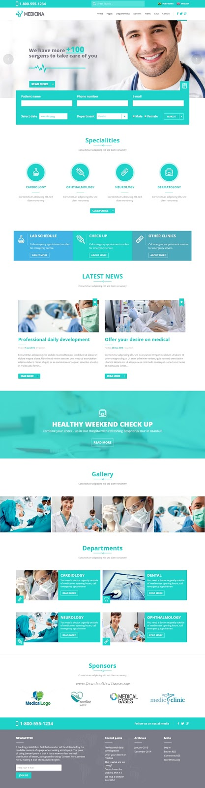 Best WordPress Theme for Medical Business Website