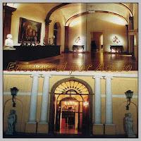 Museu da Casa Brasileira. Entrada imponente e saguão com o busto de Renata Crespi Prado, obra de Brecheret