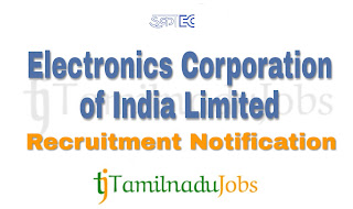 ECIL Recruitment notification of 2019, govt jobs for ITI, Govt jobs for Diploma, Govt jobs for graduates