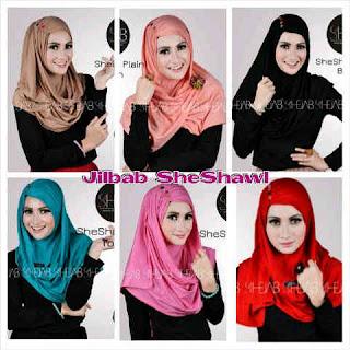 jilbab instan she