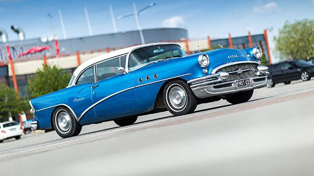 Buick Oldtimer Spécial 1955 - Fond d'écran en Full HD