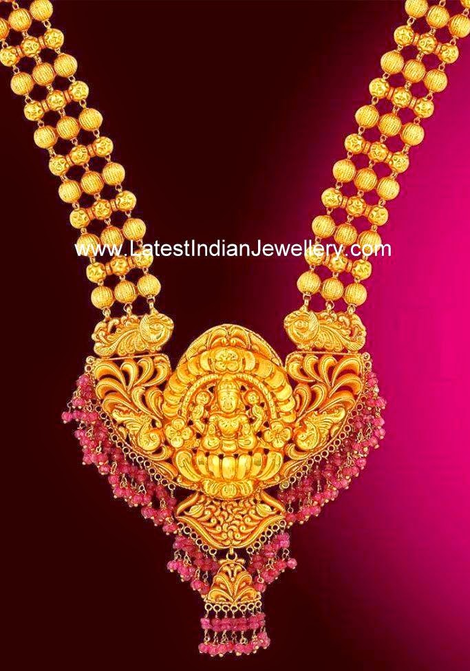 Temple Jewellery Indian Gold Haram