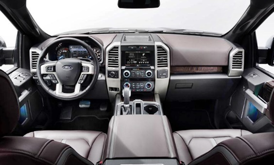 2019 Ford Bronco Interior Design