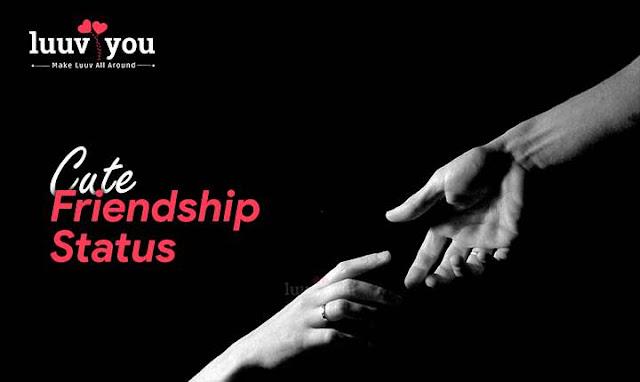 Cute Friendship Status, क्यूट फ्रेंडशिप स्टेटस [NEW 2020]