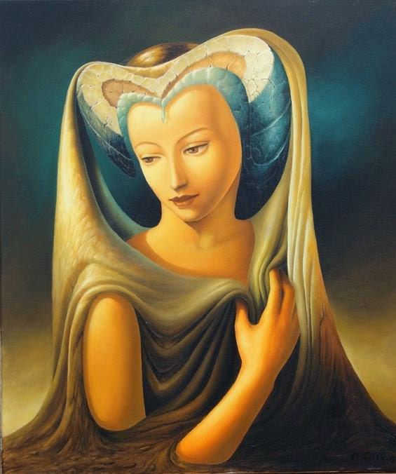 A Nobreza - Ileana Cerato e seu surrealismo nostálgico ~ Pintor argentino