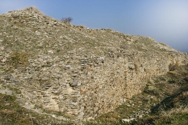 Muralla Meridional del castillo medieval