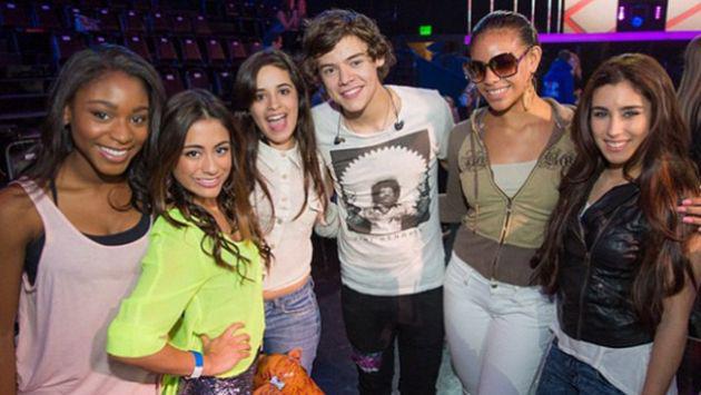 Harry Styles aconsejó a Fifth Harmony para que no se separen.