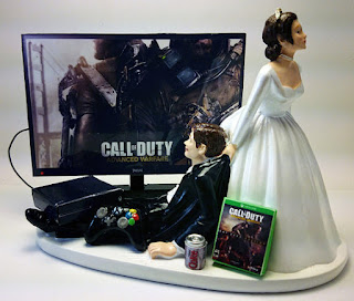 video game call of duty cake topper