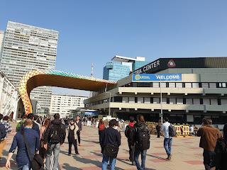 The Vienna International Centre.