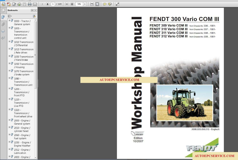 autoepcserviceheavyequipment: FENDT TRACTORS Operator