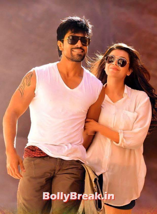 Kajal Aggarwal in shorts, Kajal Aggarwal in movie Govindudu Andarivadele - HD Hot Pis