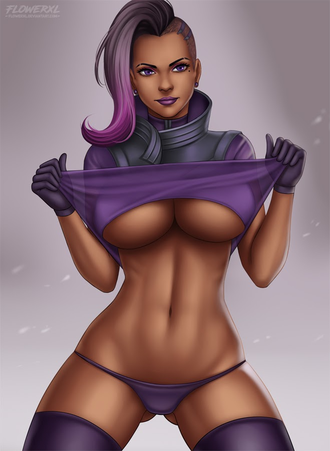 hot sombra undressing