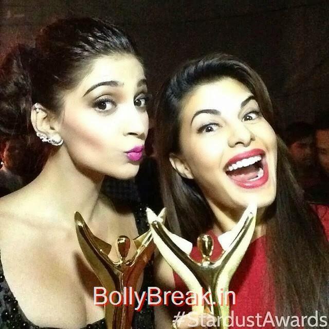 sonam kapoor , jacqueline fernandez , 😘, Sonam Kapoor hot HD Pics From Stardust 2014 awards
