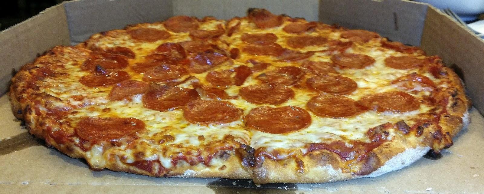 Pizza Quixote Review Domino S Brooklyn Style Pizza