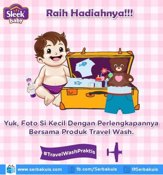 Kontes Foto Travel Wash Praktis Hadiah Voucher Belanja Jutaan Rupiah + Hampers