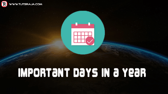 Important Days in a Year