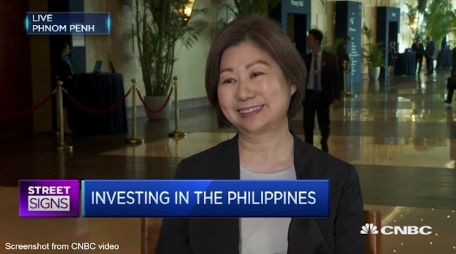 Henry Sy daughter tells int'l media: Duterte is intelligient, his focus on drug war helps business thrive