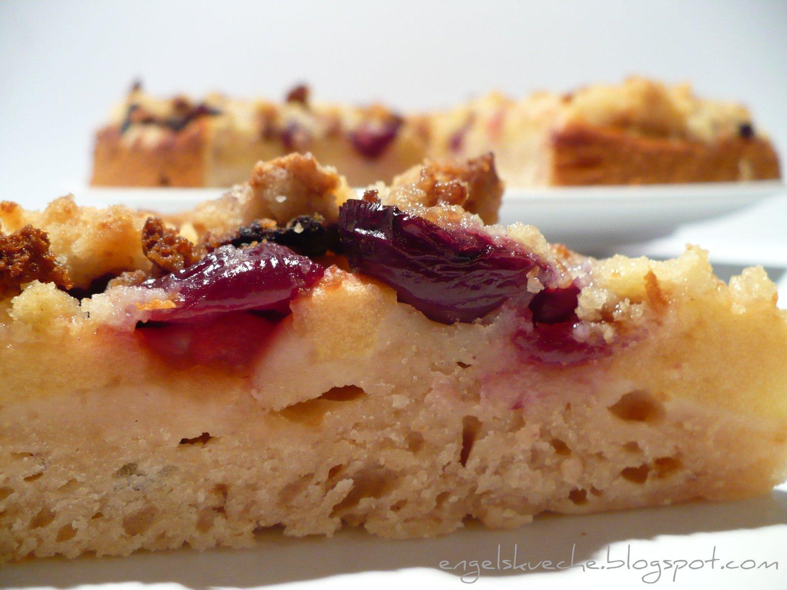 Essen Aus Engelchens Kuche Apfel Amaretto Kirsch Kuchen Mit