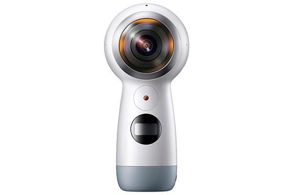 SAMSUNG debuts Gear 360 (2017) camera with 4K resolution and live streaming support