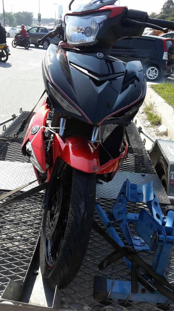 Yamaha Lc135 , R25 , Y15 , R15 (bantuan kemalangan dan breakdown