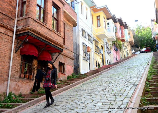 Ladder Street in Balat