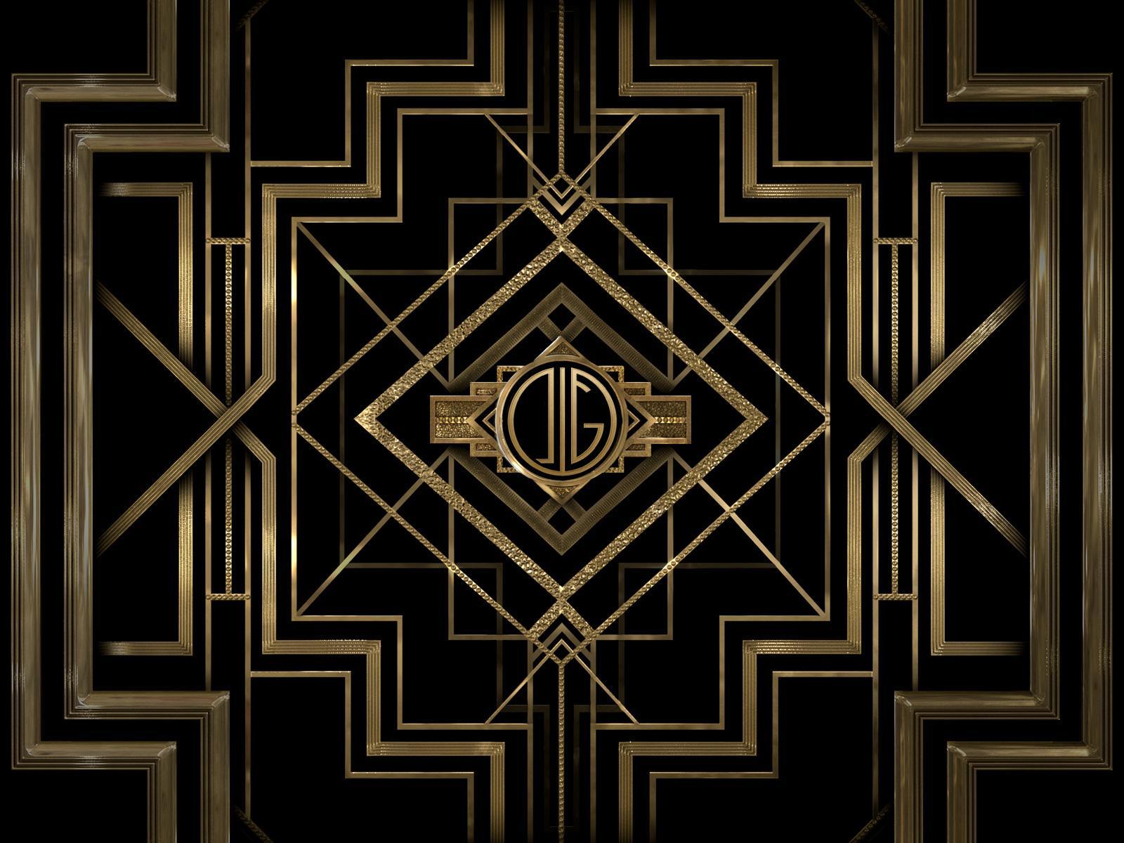 great gatsby monogram maker. Black Bedroom Furniture Sets. Home Design Ideas