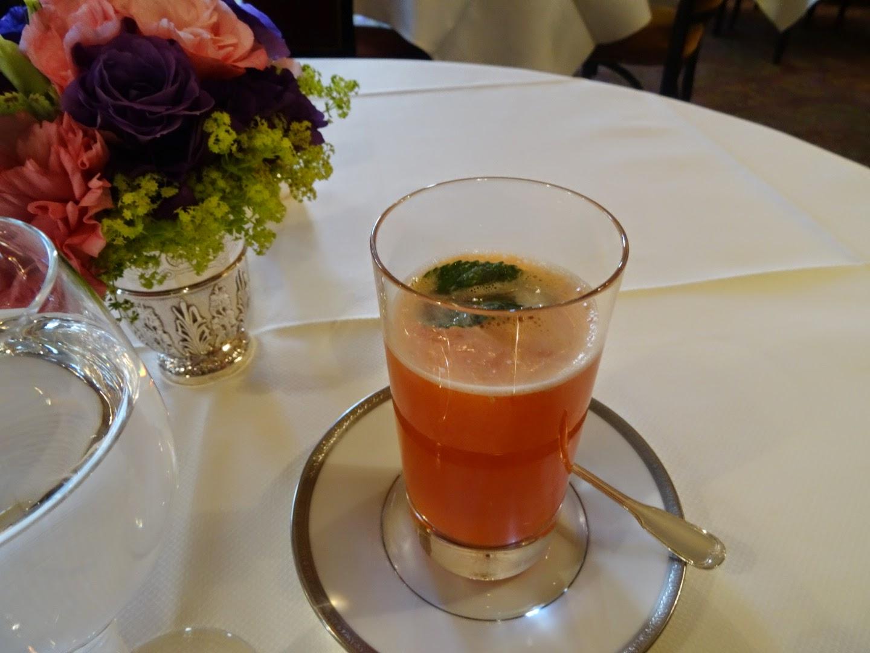 Boisson restaurant L'Ambroisie Paris 4 ème.