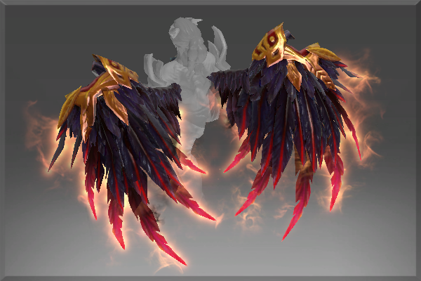 Dota 2 Mod Gravelmaw Deep Magma Immortal Items: Dota 2 Mod : Queen Of Pain Bloodfeather Wings Immortal
