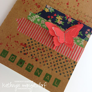 Stampin' Up! Affectionately Yours Designer Washi Tape by Kathryn Mangelsdorf