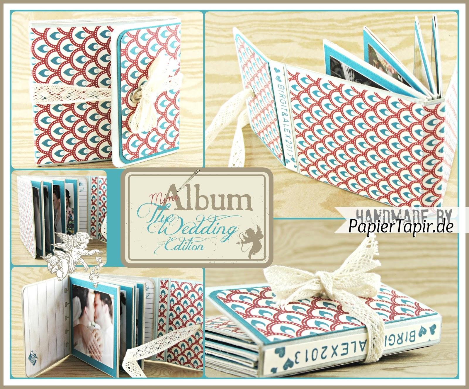 papiertapir mini album wedding edition. Black Bedroom Furniture Sets. Home Design Ideas