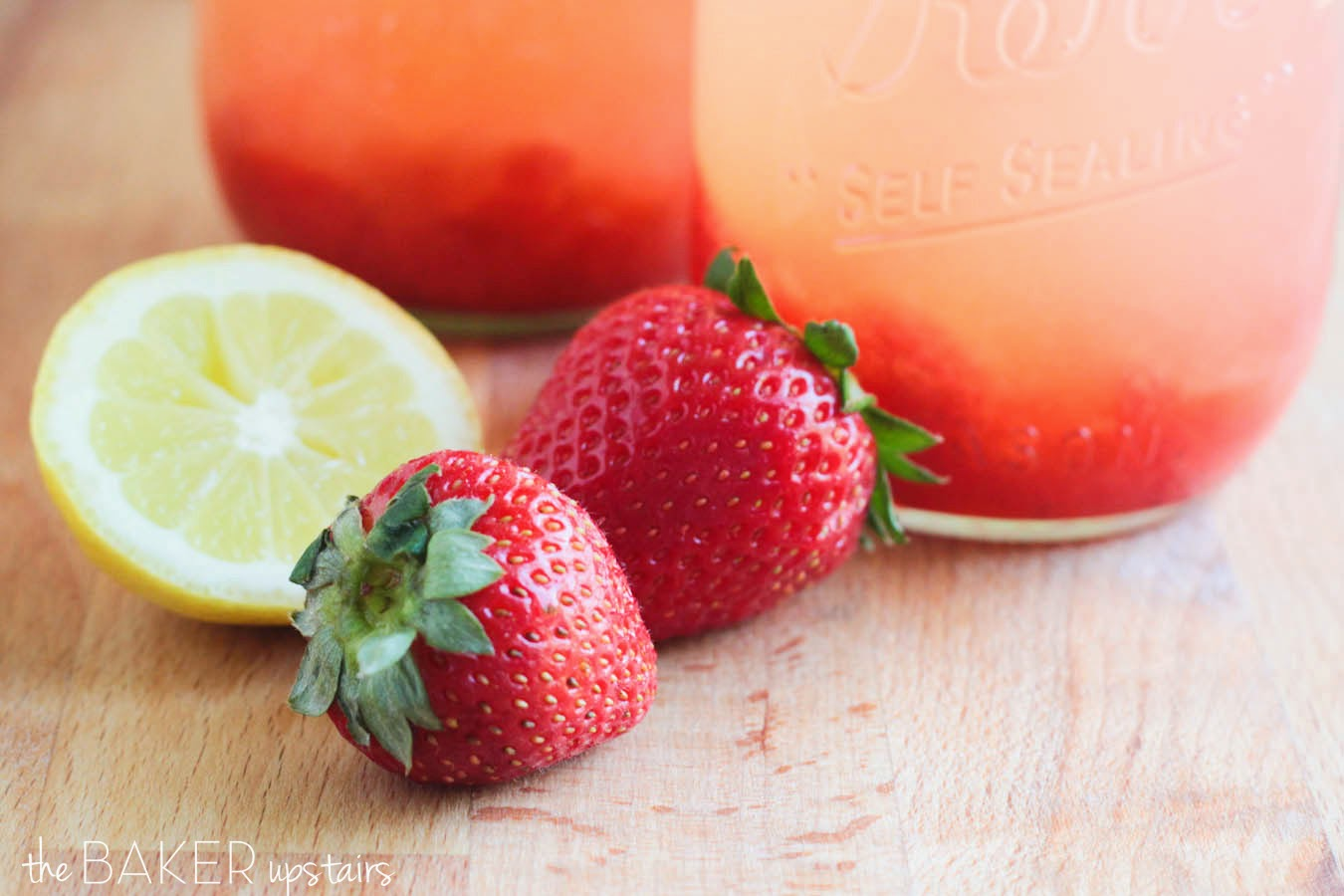This sweet and refreshing fresh strawberry lemonade is the perfect summer drink!