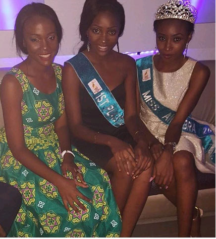 Former Miss Anambra Chidinma Okeke spotted at Miss Nigeria pageantry