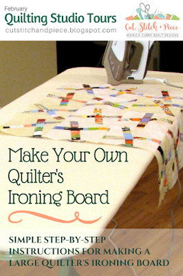DIY quilters ironing board tutorial