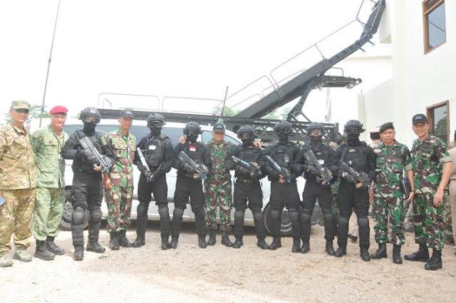 Panglima TNI Saksikan Demo Latihan Operasi Basra