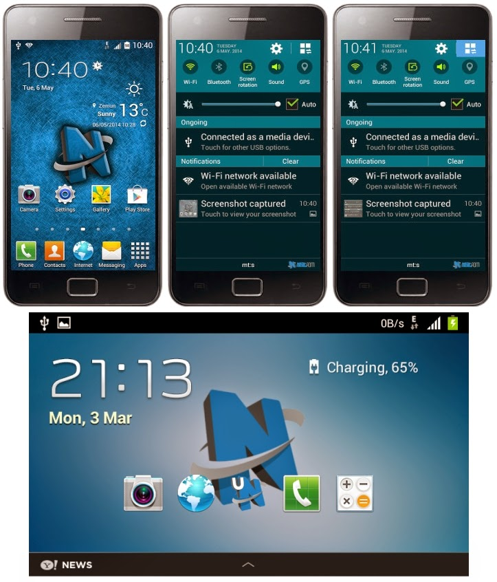ROM Custom : NeatROM v6.3 JB 4.1.2 - Galaxy S2