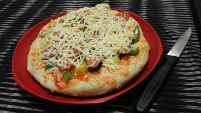 Cara Membuat Pizza Teflon Anti Gagal Enaknya Gak Gagal Dimulut
