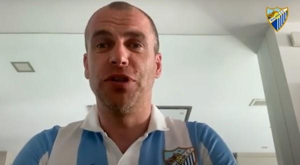 """Duda, sobre su debut con el Málaga: """"Me dio la oportunidad de estar entre los más grandes de la Liga"""""""