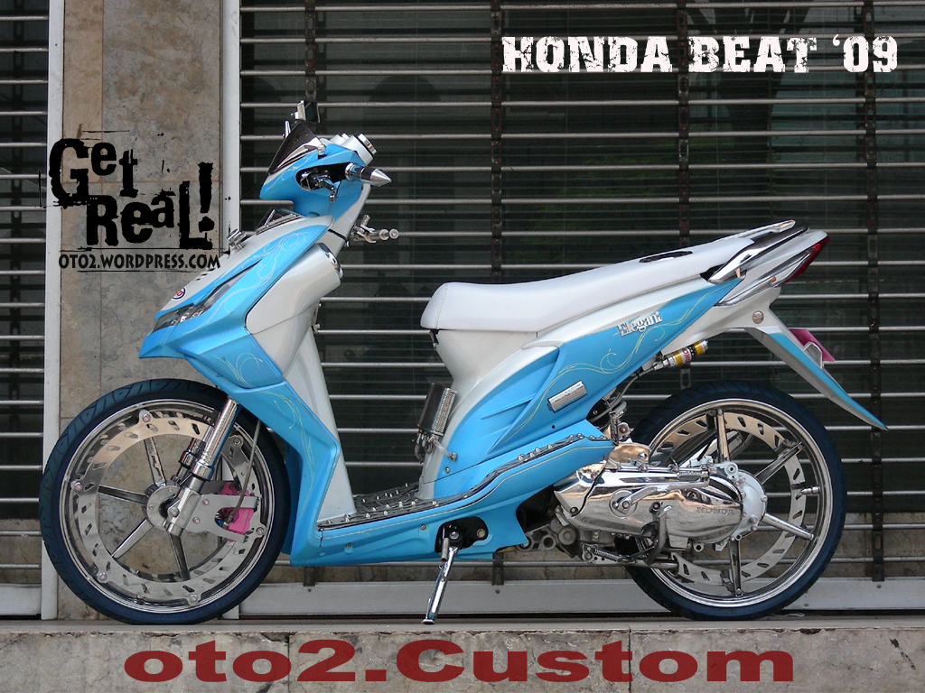Modifikasi Motor Radak Keren Honda Beat