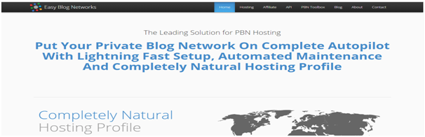 PBN hosting provider Easy Blog Networks