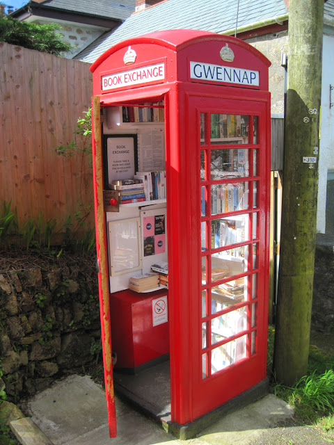 local telephone/book exchange