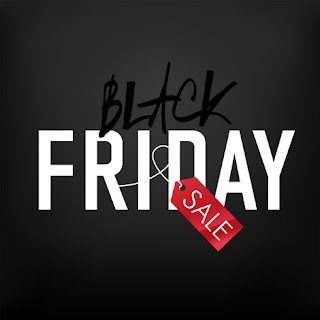 Clipart image of a Black Friday background