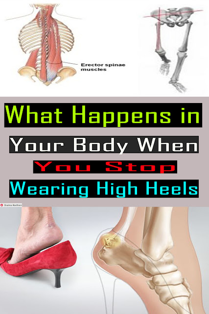 What Happens in Your Body When You Stop Wearing High Heels #Health Medical